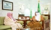 نائب أمير الرياض يستقبل مدير مكافحة المخدرات بالمنطقة