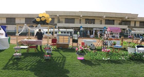 """بالصور.. """" الأمومة والطفولة """" تشارك بفعاليات محافظة الغاط"""