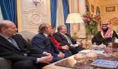 بالصور.. ولي العهد يلتقي نواب الجمعية الوطنية الفرنسية
