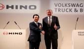 شراكة بين تويوتا وفولكس فاجن في قطاع الشاحنات