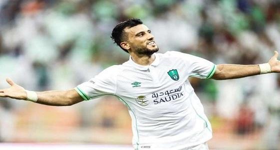 """من أجل """" الهريفي """" .. السومة يرتدي شعار النصر لأول مرة"""