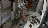 إحباط تهريب 35 قطعة سلاح و3265 حبة مخدرة و531 كيلو حشيش بجازان