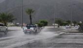 هطول أمطار رعدية مصحوبة برياح نشطة على عسير