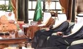 الأمير فهد بن سلطان يلتقي رئيس وأعضاء شركة أسمنت تبوك