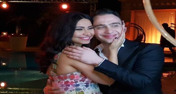 بالصور .. نجوم الفن يهنئون شيرين وحسام حبيب بزفافهما