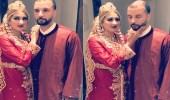 بالفيديو.. عروس تصفع زوجها في طقوس غريبة