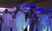 بالفيديو.. نواف بن سعد يشارك فرحته مع أبنائه