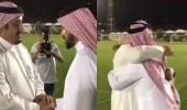 بالفيديو.. سامي الجابر يلتقي نواف بن سعد في مقر الهلال