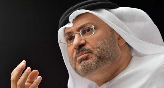 """قرقاش ردا على """" الجبير """" : تصرفات قطر جعلتها عرضه للابتزاز السياسي والمالي"""