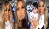 بالفيديو.. رد فعل صادم لخلود الصغيرة لحظة حمل مايا دياب لها