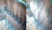 بالفيديو.. 4 عمال يدفنون أحياء تحت أكوام من الحجارة والرمال