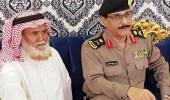 """"""" شرطة الرياض """" تنقل تعازي الأمير فيصل في وفاة الجندي غريب آل فهاد"""