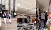 بالفيديو.. مداهمة محل يسوق لمنتجاته المخالفة عبر سناب شات