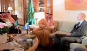 أمير منطقة الرياض يحضر حفل سفارة مملكة السويد