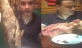 بالفيديو.. شاب يسخر من متناولي الفسيخ على طريقته الخاصة