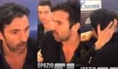 بالفيديو.. رونالدو يطيب خاطر بوفون بعد طرده