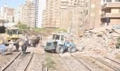 بالصور.. الإسكندرية تستيقظ على كارثة وإخلاء سكان منطقة بالكامل