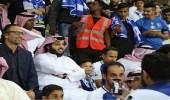 """"""" آل الشيخ """" يصل إلى ملعب الهلال لحضور اللقاء"""