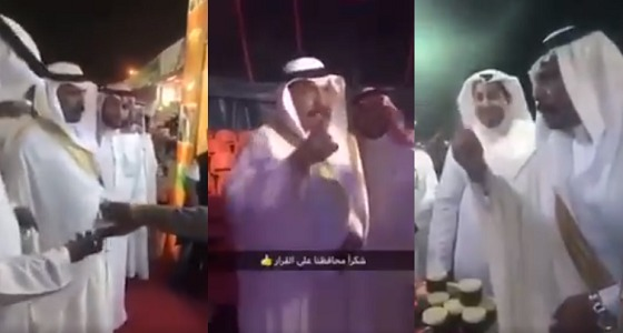 """بالفيديو.. محافظ بيش متوعدا القائمين على مهرجان الترفيه: """" أرواح الناس أهم شئ """""""