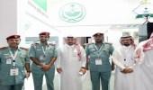 بالصور.. الجوازات تختتم مشاركتها بمعرض دبي الدولي للإنجازات الحكومية