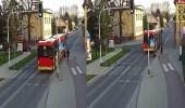 بالفيديو.. فتاة تمزح مع صديقتها بدفعها أمام حافلة متحركة