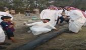 بالصور.. شباب جازان يلتقطون السيلفي مع الصاروخ البالستي