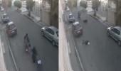 بالفيديو.. سحل سيدة لسرقتها في الشارع