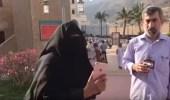 بالفيديو.. مواطنه ترحب بضيوف الملك سلمان للعمرة