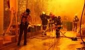 مصرع وإصابة 24 شخصا في حريق بإيران