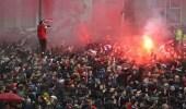 رئيس نادي روما يستشيط غضبا من عنف الجماهير