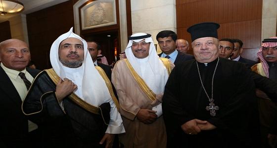 سفير المملكة لدى الأردن يشارك في افتتاح أعمال المؤتمر الدولي
