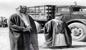 صورة نادرة للملك سعود وعمه