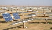 بدء الخطوة الأولى في مشروع الطاقة الشمسية الأكبر بالعالم