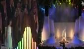 بالفيديو.. ألعاب ضوئية وعروض نارية في حفل افتتاح القدية