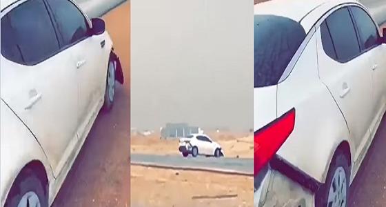 بالفيديو.. القبض على 3 مفحطين بالقوة الجبرية بالرياض