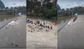 بالفيديو.. مهرجان ينقلب لكارثة.. مصرع 17 شخصا غرقا في نهر جنوب الصين