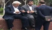 صورة عفوية تجمع وزير التجارة مع سفير خادم الحرمين في واشنطن