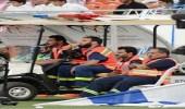 إسعاف 25حالة بين جماهير مباراة الأهلي والهلال بالجوهرة