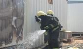نتيجة الإهمال.. مدني رفحاء يخمد حريق نشب في سكن للعمال