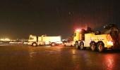 بالصور..أمطار غزيرة تغرق مكة..والدفاع المدني يحذر المواطنين