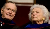 بعد إقلاعها عن العلاج بساعات.. وفاة زوجة جورج بوش الأب