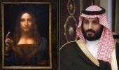 """ولي العهد يكشف حقيقة شرائه للوحة """" مخلص العالم """" لدافنشي"""