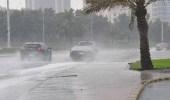 أمطار رعدية مصحوبة بزخات برد على عدة مناطق بالمملكة