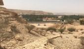 """"""" السياحة """" تكشف حقيقة التعدي على موقع درب عجلان الأثري"""