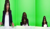 بالفيديو.. سقوط مروع لبلقيس فتحي عن الكرسي قبل ولادتها بأيام