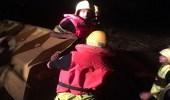 إنقاذ شخصين احتجزتهما السيول المنقولة في بارق