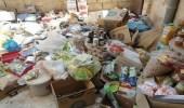 بلدية صامطة تصادر 161 كجم لأغذية مجهولة المصدر