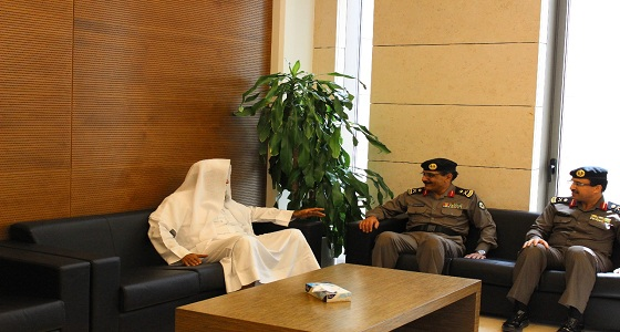مدير شرطة الرياض يزور المحكمة الجزائية