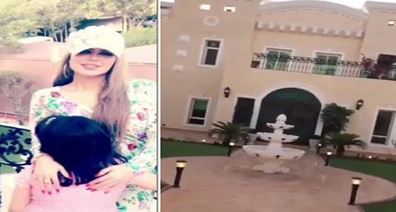 بالفيديو.. حليمة بولند تستعرض منزلها الفخم