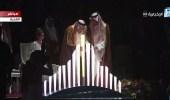 بالفيديو والصور.. خادم الحرمين يضع حجر أساس مشروع القدية